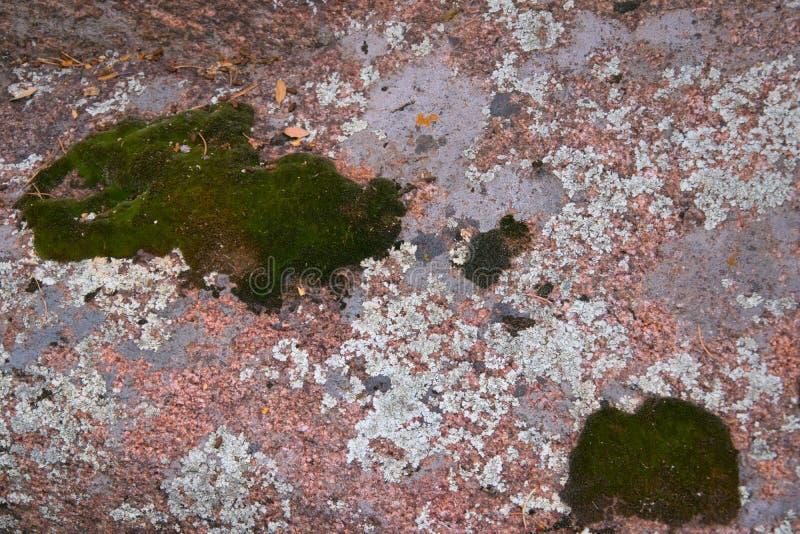 花岗岩岩石特写镜头纹理  免版税库存照片