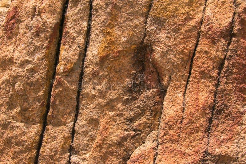 花岗岩岩石特写镜头纹理  免版税库存图片