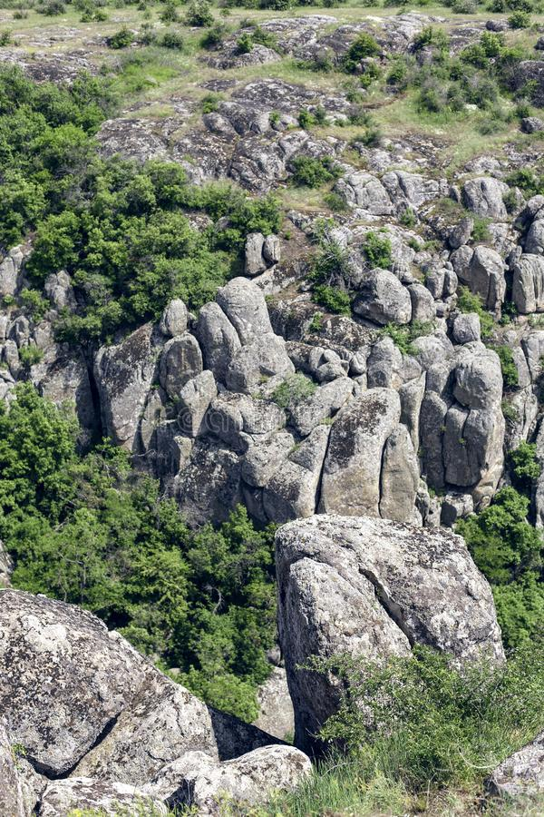 ?? 花岗岩岩石 库存照片
