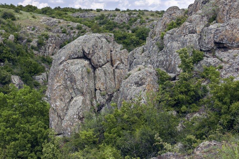 ?? 花岗岩岩石 免版税库存图片