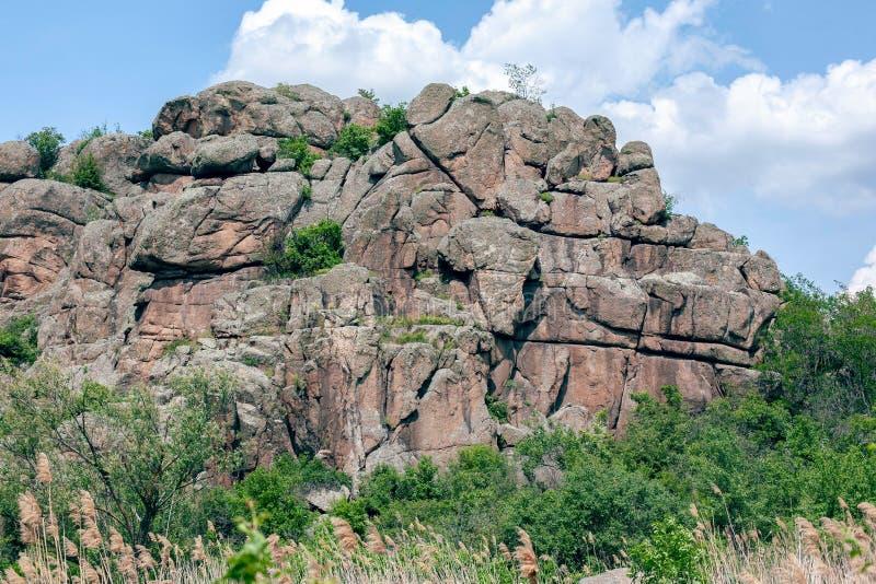 ?? 花岗岩岩石 免版税图库摄影