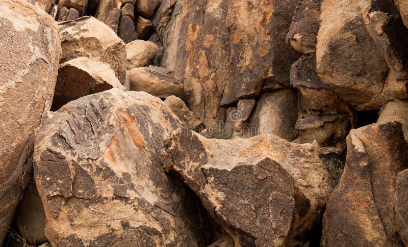 花岗岩岩石 免版税库存图片