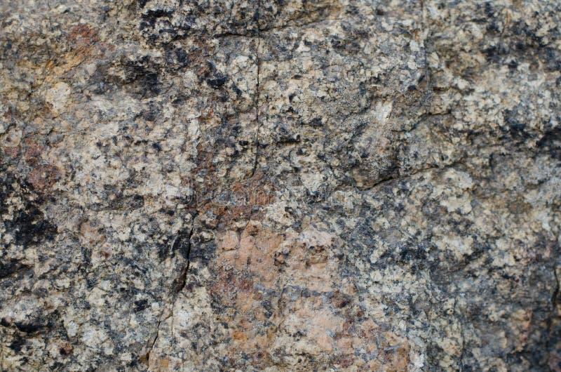 花岗岩石结构 免版税库存照片