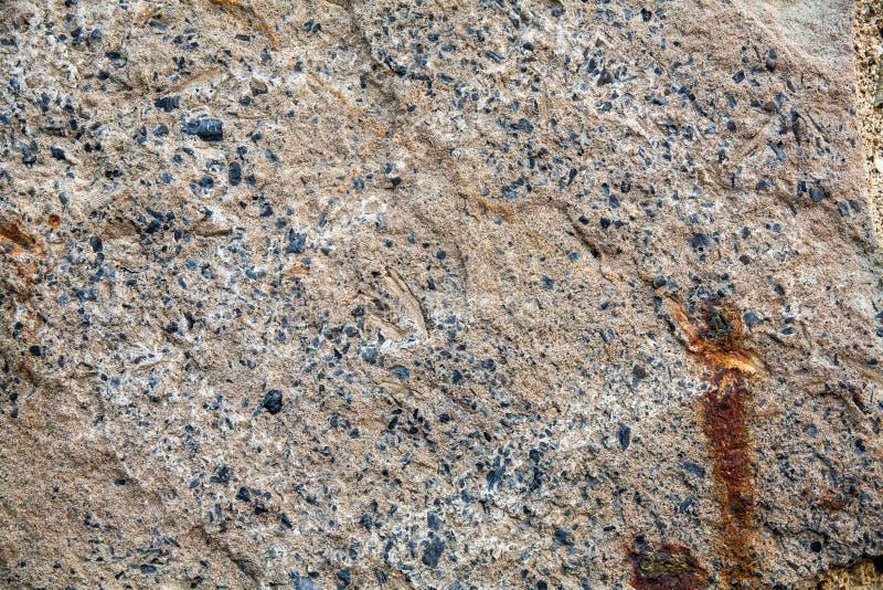 花岗岩美好的自然设计特写镜头。 免版税库存图片