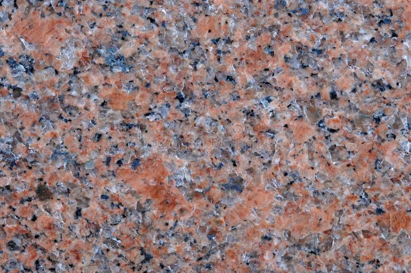 花岗岩自然桃红色岩石 库存照片