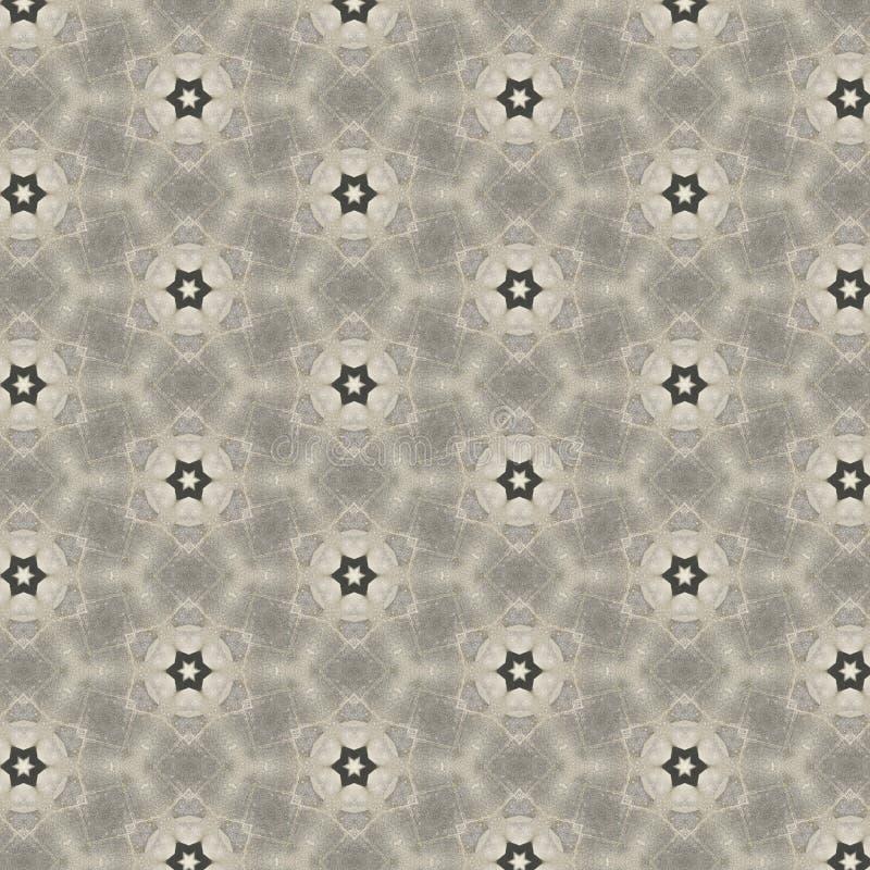 花或星形状样式设计 库存例证