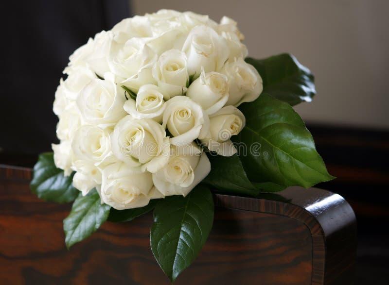 花束婚礼 免版税库存图片
