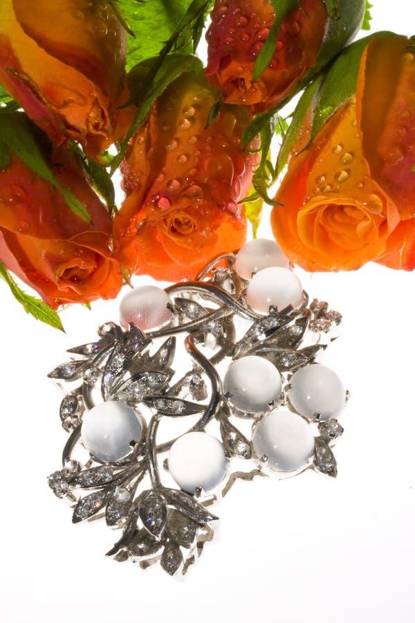 花束宝石工人装饰品 免版税库存照片