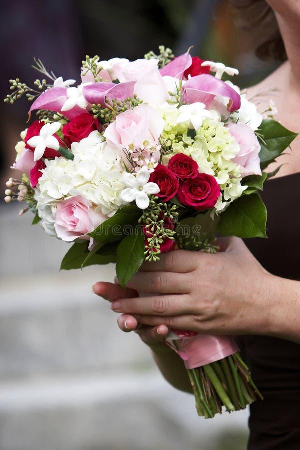 花束开花婚礼 图库摄影