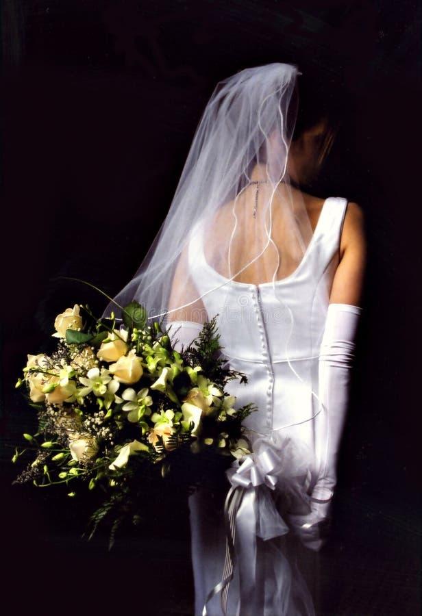 花束新娘 免版税图库摄影