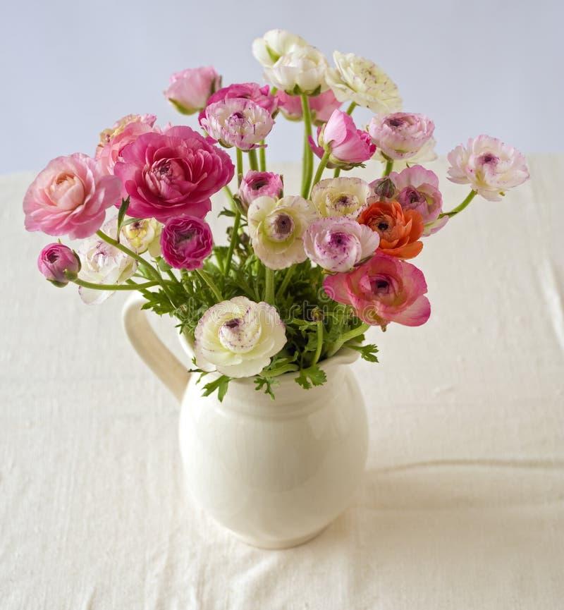 花束毛茛 库存照片