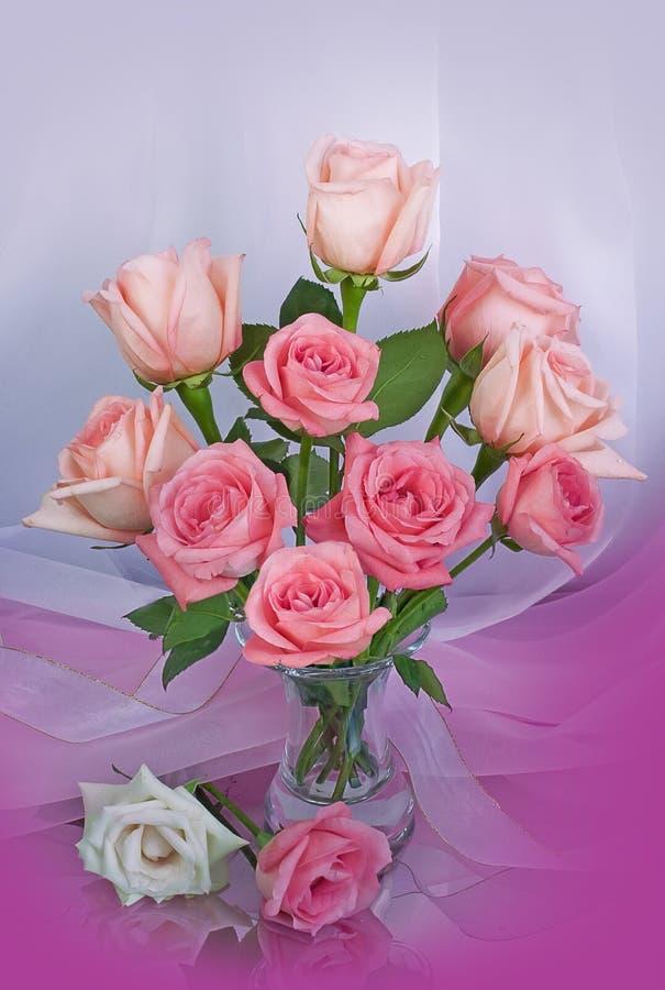 花束玫瑰 免版税图库摄影