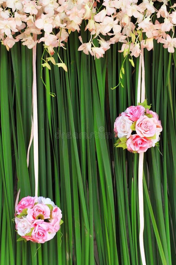 花束粉红色上升了 免版税库存图片