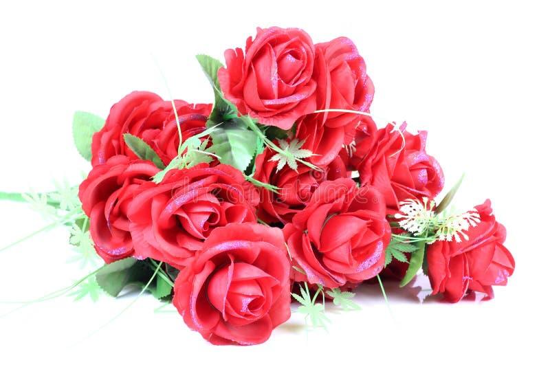 花束红色上升了 图库摄影