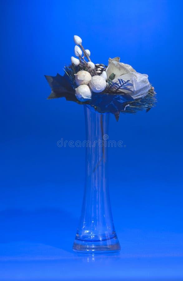 花束花瓶 免版税库存图片