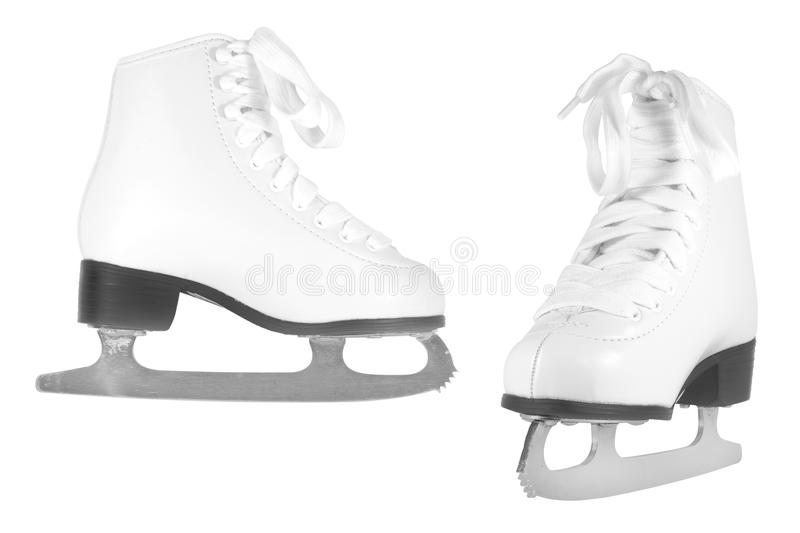 花样滑冰 库存图片