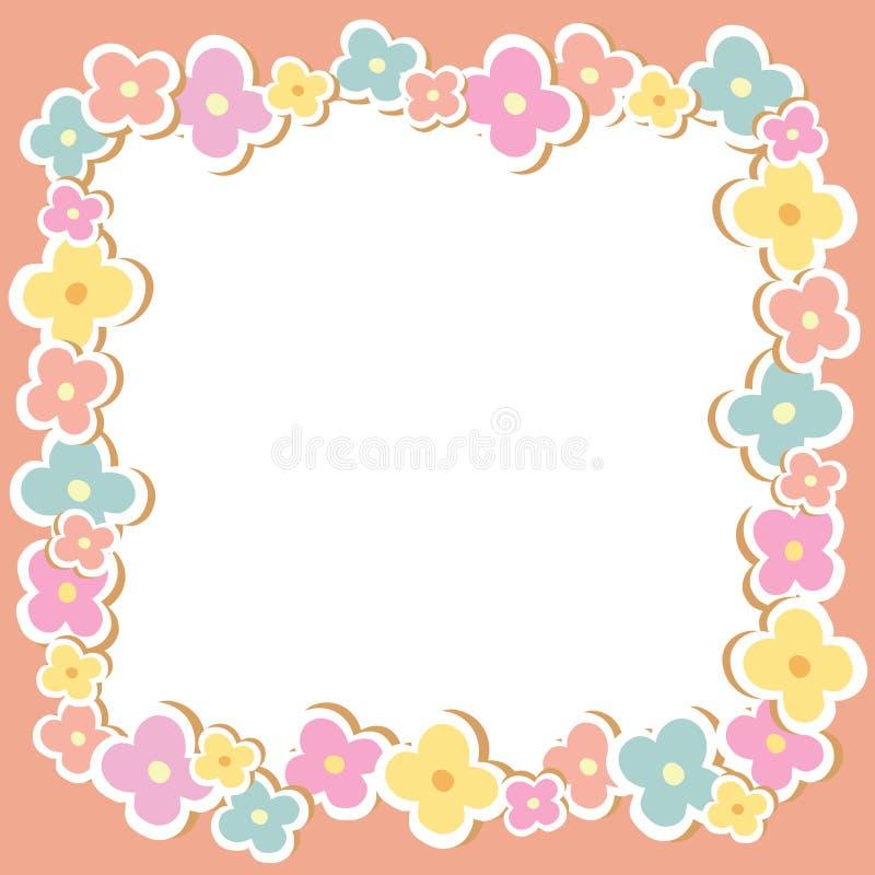 Download 花框架与空的空间的 向量例证. 插画 包括有 文本, 框架, 国界的, 开花, 例证, 图画, 植物群, 角落 - 30329997