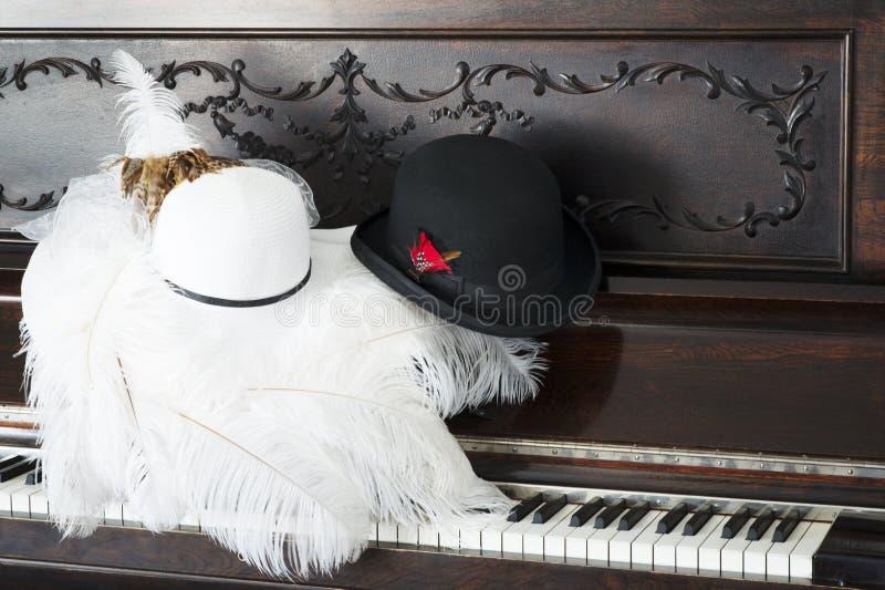 花梢帽子,老事,新的事 免版税图库摄影