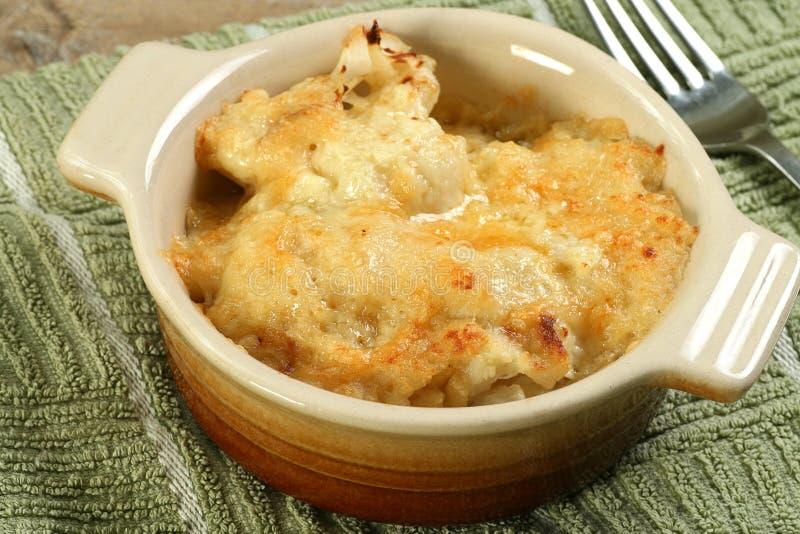 花椰菜乳酪 库存照片
