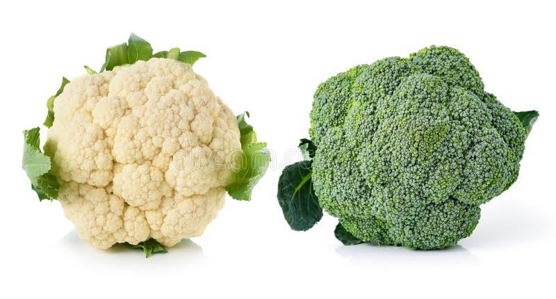 花椰菜和硬花甘蓝 库存图片