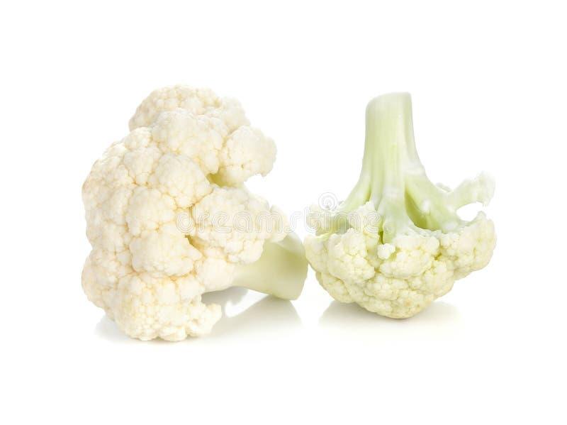 花椰菜查出的白色 图库摄影