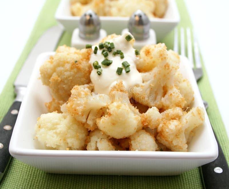 花椰菜炖煮的食物 图库摄影