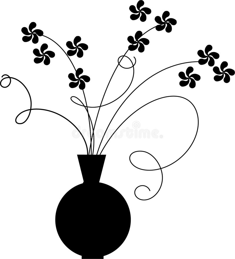 花瓶 向量例证