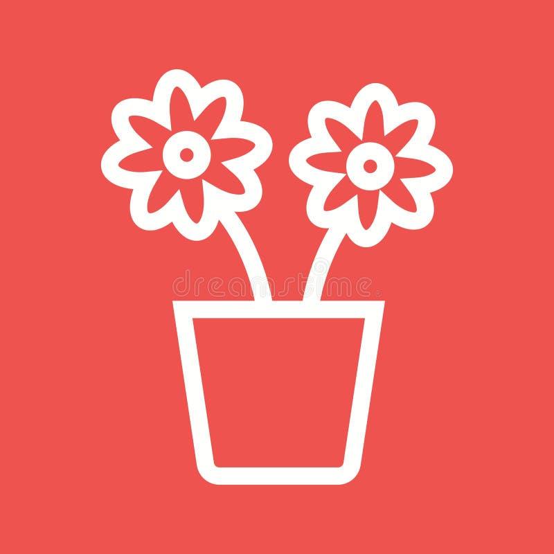 花盆 向量例证