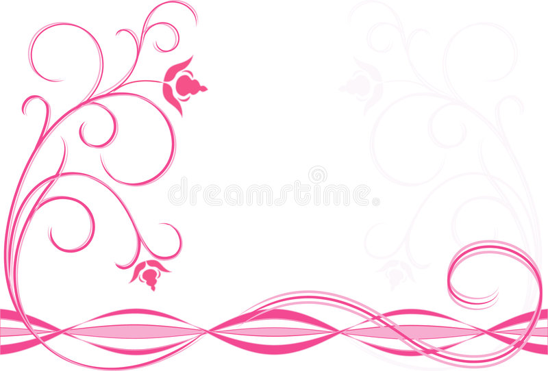 花粉红色 库存照片