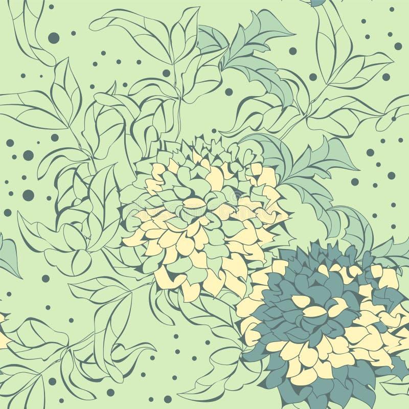 花纹花样无缝的向量 库存例证