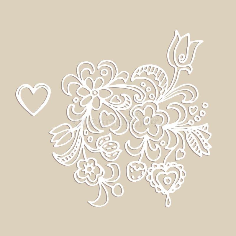 Download 花装饰品的传染媒介元素 向量例证. 插画 包括有 标签, 刺绣, 模板, 问候, 装饰, 图象, 邀请, 形状 - 59111583