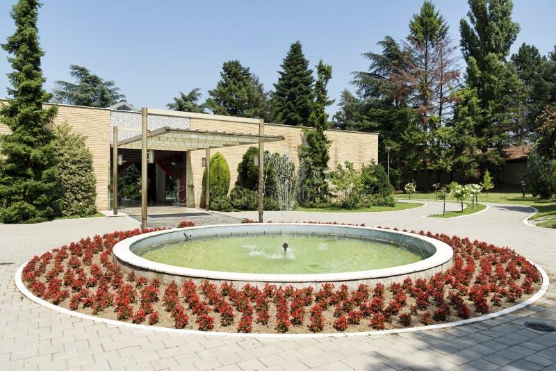 花议院, Belgrad,塞尔维亚 免版税库存图片