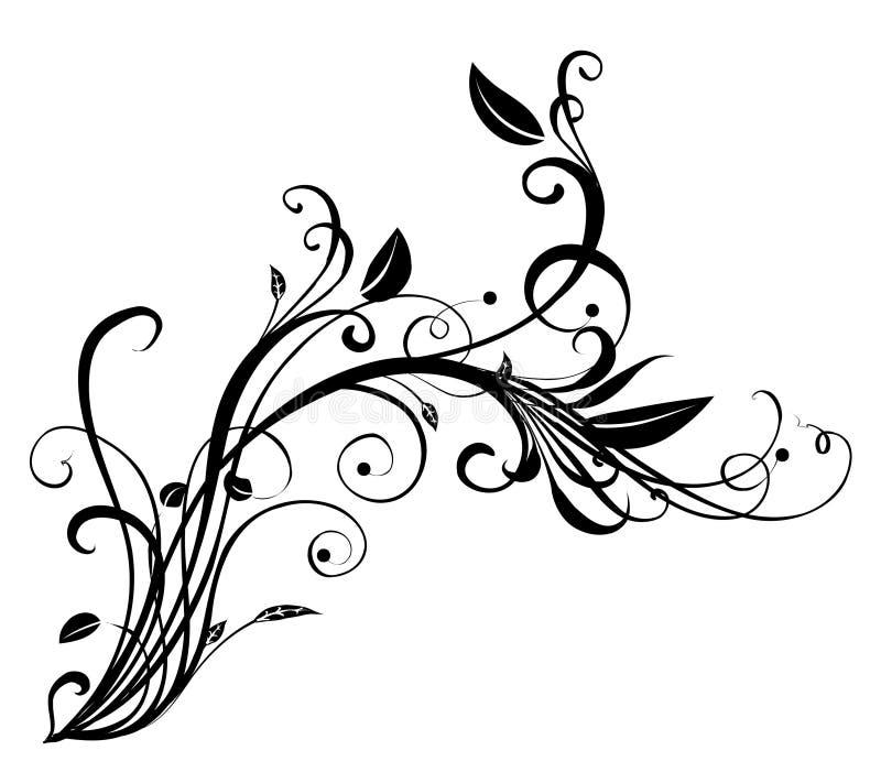 Download 花饰 库存例证. 插画 包括有 滚动, 叶子, 图象, 空白, 相当, 装饰, 花卉, 投反对票, 装饰品 - 3531498