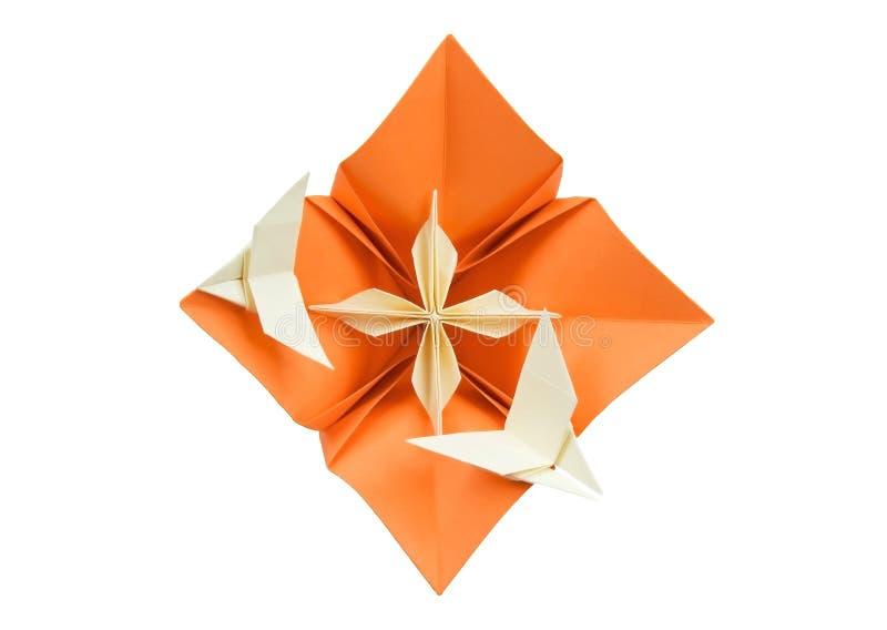 花origami 库存图片