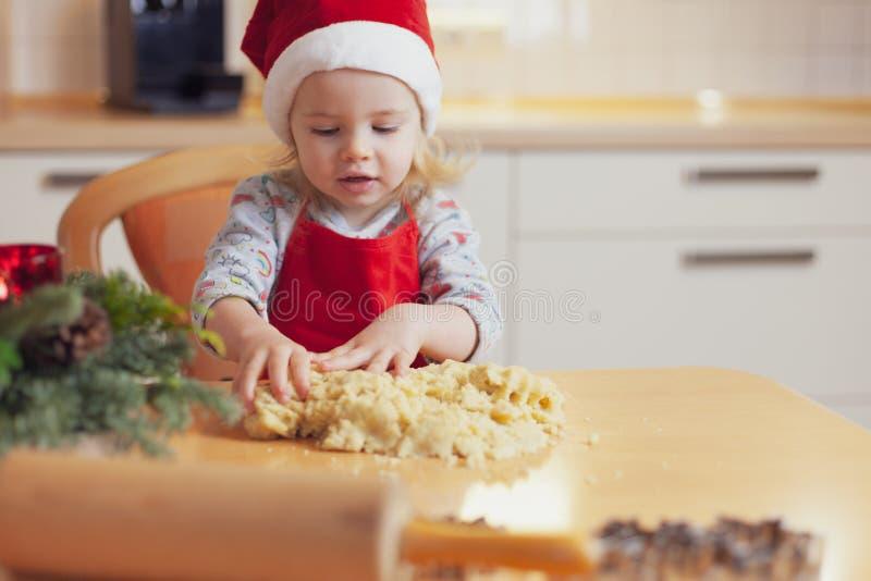 芳香烘烤圣诞节曲奇饼姜饼香料 图库摄影