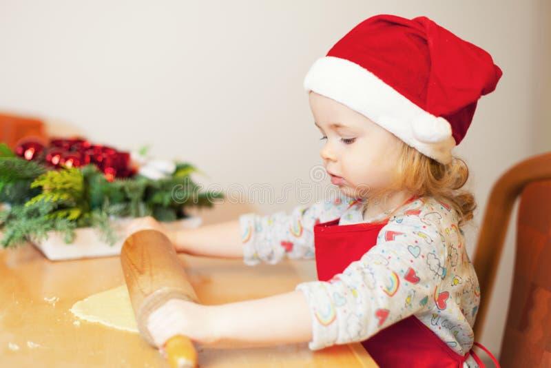 芳香烘烤圣诞节曲奇饼姜饼香料 库存图片