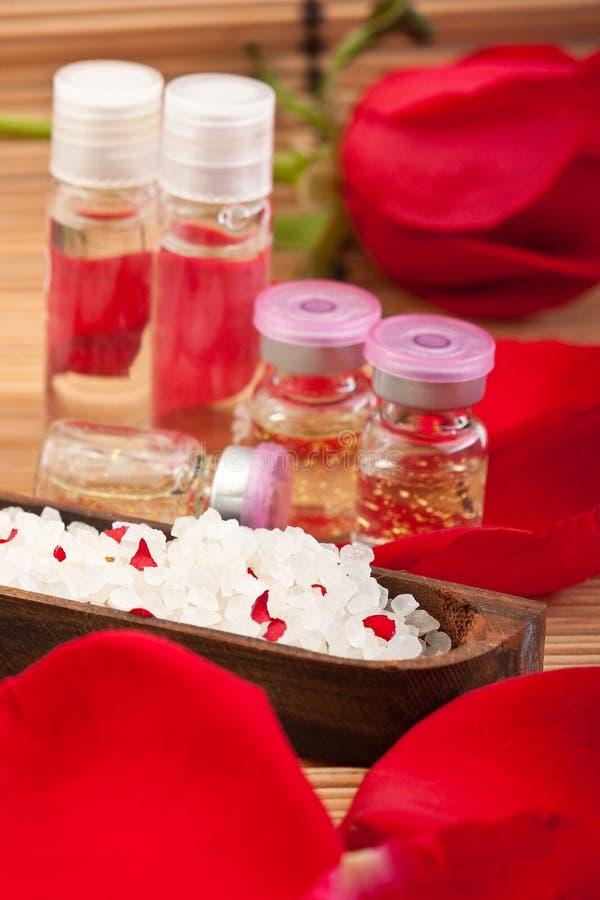 芳香要素疗法 库存照片