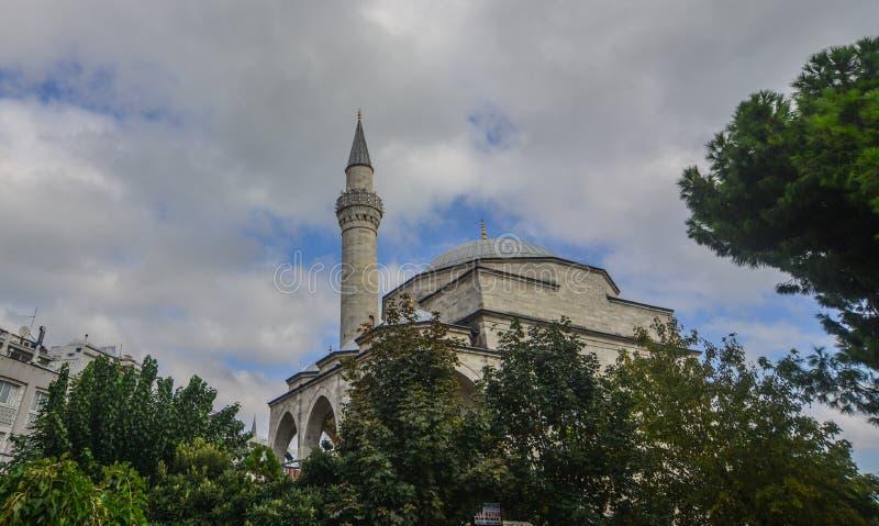 苏丹阿哈迈德清真寺在伊斯坦布尔,土耳其 图库摄影