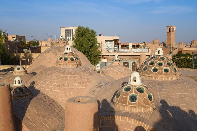 苏丹Mir阿哈迈德公共浴室屋顶  免版税库存照片