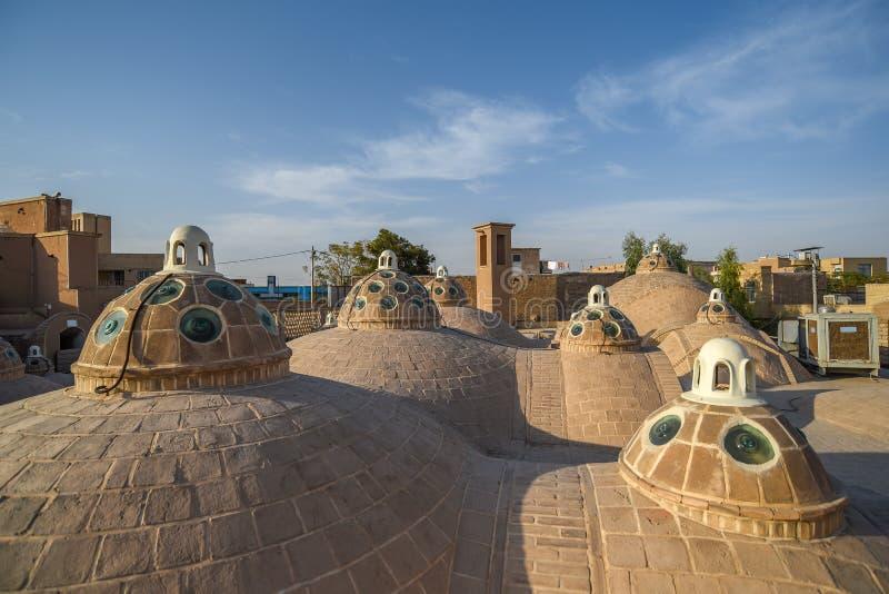 苏丹Mir阿哈迈德公共浴室屋顶  免版税图库摄影