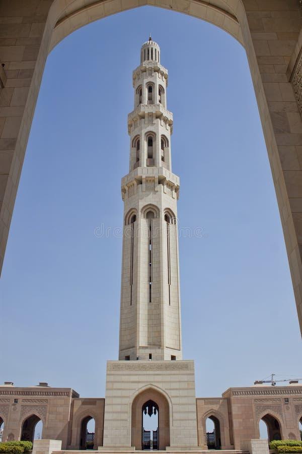 苏丹Qaboos清真寺 图库摄影