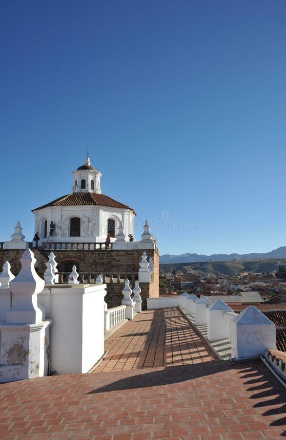 苏克雷,玻利维亚 免版税库存图片