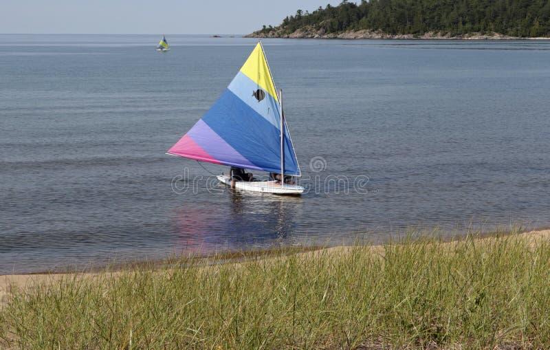 苏必利尔湖, Marquette,密执安 免版税库存图片