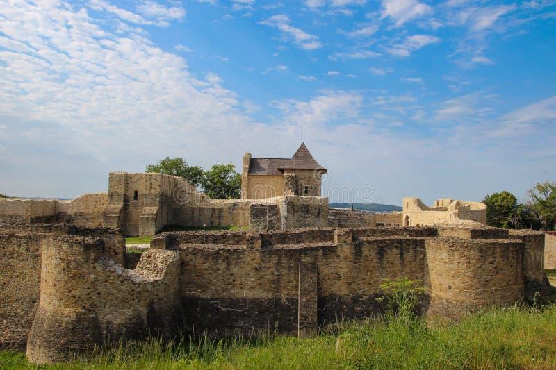 苏恰瓦位子堡垒  库存照片