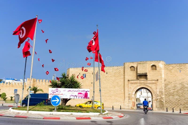 苏斯,突尼斯Qasaba和垒  免版税图库摄影