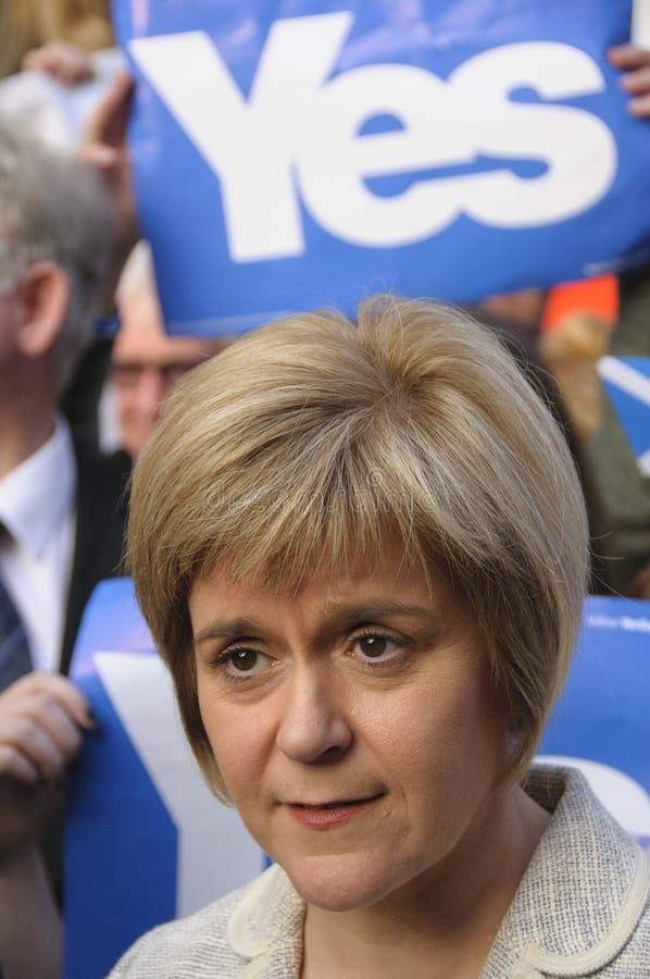 2014苏格兰人公民投票竞选 图库摄影