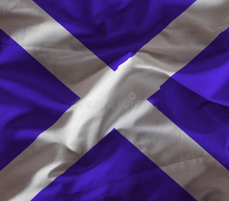 苏格兰旗子 免版税库存照片