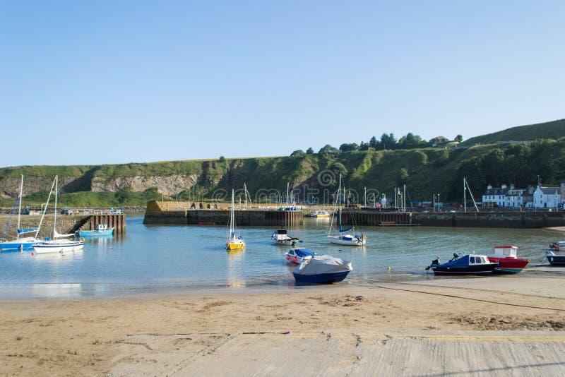 苏格兰港口 免版税图库摄影