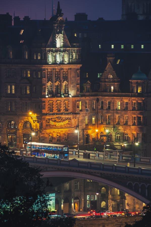 苏格兰男子旅馆在爱丁堡 库存图片