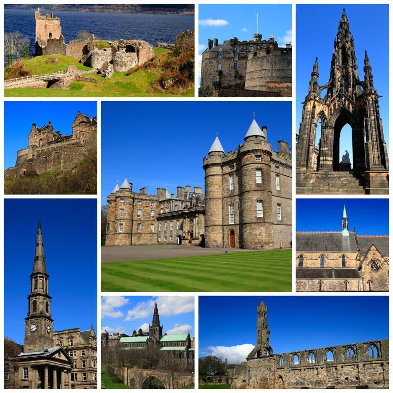 苏格兰的印象 免版税库存照片